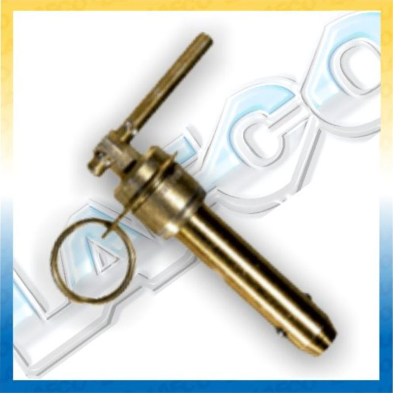 L Handle Double Acting Ball Lock Pins